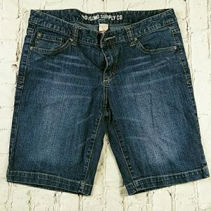 Mossimo Supply Co Blue Denim Short Juniors 11